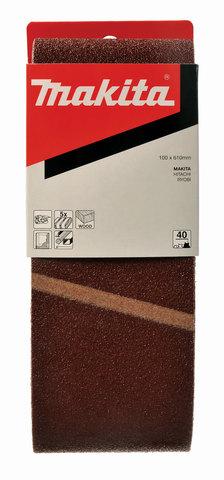 Шлифовальная лента Makita # 80 100x610 мм