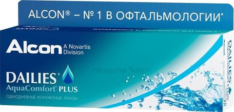 Dailies AquaComfort Plus 30 линз BC 8.7
