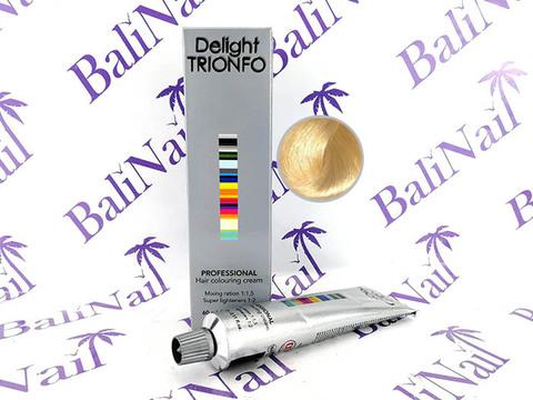 TRIONFO 10-0 стойкая крем-краска для волос Светлый блондин натуральный, 60 мл
