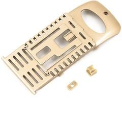 Крепление аккумулятора (золотой) для квадрокоптера MJX X601H - MJX-601H03