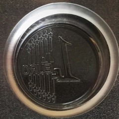 Поликарбонатная форма для шоколада  Монета ЕВРО 1цент. 21в1