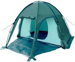 Палатка Talberg Bigless 4 зеленая - 2