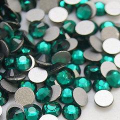Стразы стекло, ss8 Зеленый 50 шт.