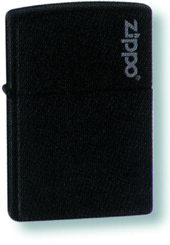Зажигалка ZIPPO Classic Black Matte™ Логотип Zippo ZP-218ZL