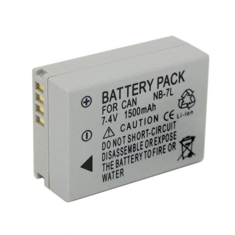 Аккумулятор для Canon NB-7L для PowerShot G10  PowerShot G11  PowerShot G12  PowerShot SX 30 IS