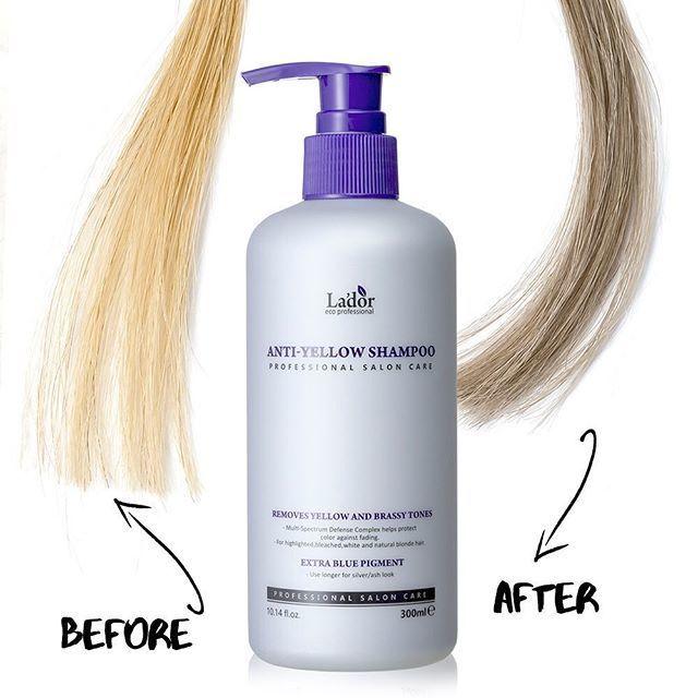 Волосы Шампунь оттеночный против желтизны волос La'dor Anti Yellow Shampoo 300ml 49906785_382378222338156_1555078472295221281_n.jpg