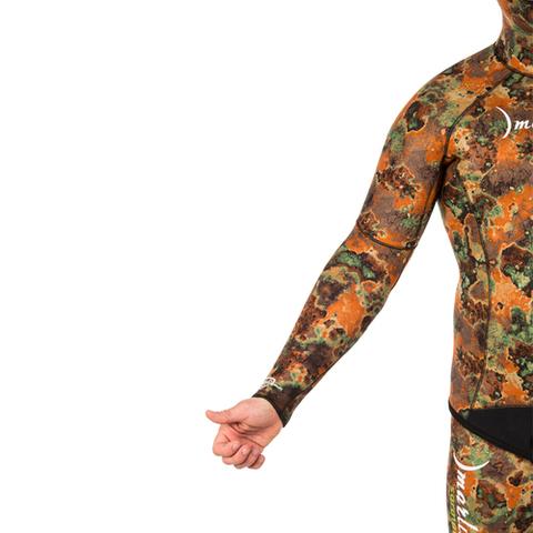 Гидрокостюм Marlin Sarmat Eco Brown 9 мм куртка – 88003332291 изображение 8