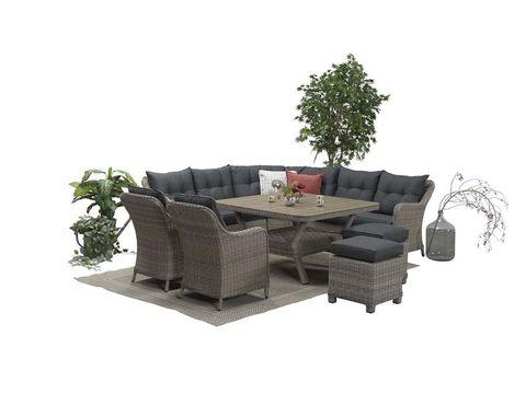 Комплект мебели из ротанга уголок Сорренто
