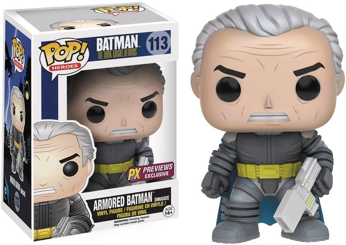 Фигурка Funko Pop! DC Heroes: The Dark Knight Returns Unmasked Armored Batman 9529