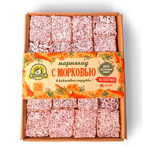 Мармелад с морковью в кокосовой стружке Андреевское подворье, 330г