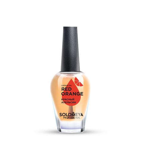 SOLOMEYA | Масло для кутикулы и ногтей с витаминами «Красный апельсин» / Cuticle Oil