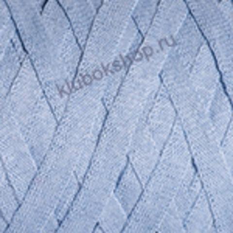 Ленточная пряжа YarnArt Ribbon цвет 760 светло-голубой
