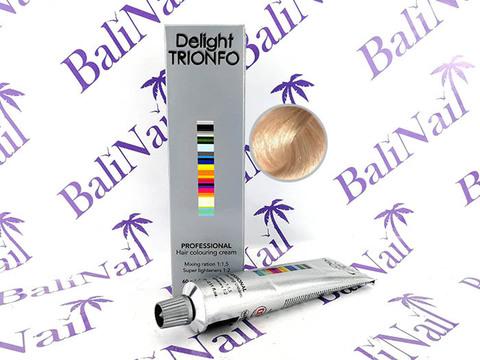 TRIONFO 10-19 стойкая крем-краска для волос Светлый блондин сандре фиолетовый, 60 мл