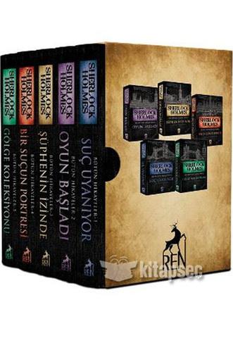 Sherlock Holmes Bütün Hikayeler (5 Kitaplık Kutulu Set)