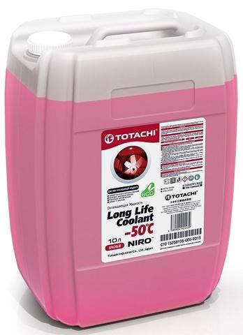 NIRO™ LONG LIFE COOLANT RED -50 C TOTACHI Антифриз красный (10 Литров)