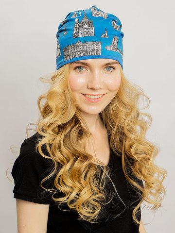 Летняя женская шапочка с принтом Санкт-Петербург