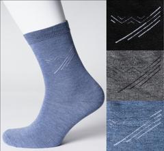 VM018 носки мужские, цветные 42-46 (3шт)