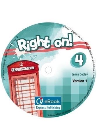 RIGHT ON! 4 Iebook - интерактивный учебник на диске.