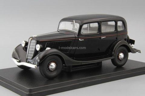 GAZ-M1 black 1:24 Legendary Soviet cars Hachette #28
