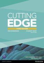 Cutting Edge Third Edition Pre-Intermediate Student's BooK/DVD Pack
