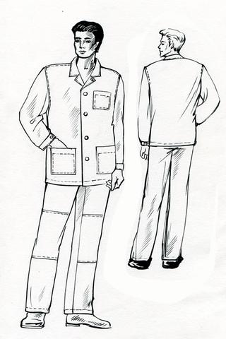 Выкройки длинной куртки