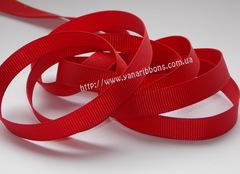 Лента репсовая красная ширина 6, 9, 22 и 38 мм