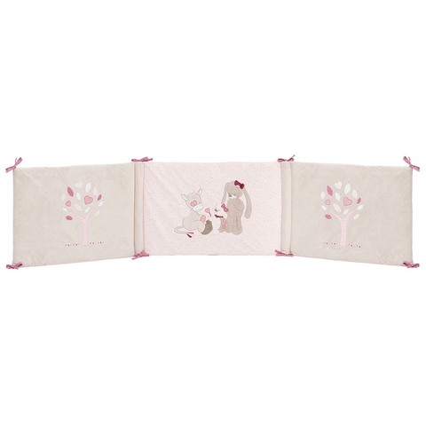 Бортик Nattou Nina, Jade & Lili для кровати универсальный