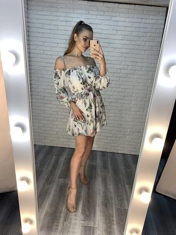белое легкое летнее платье купить