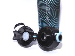 Бутылка для воды. Материал: пластик, силикон. Объём 600 ml. YY-901