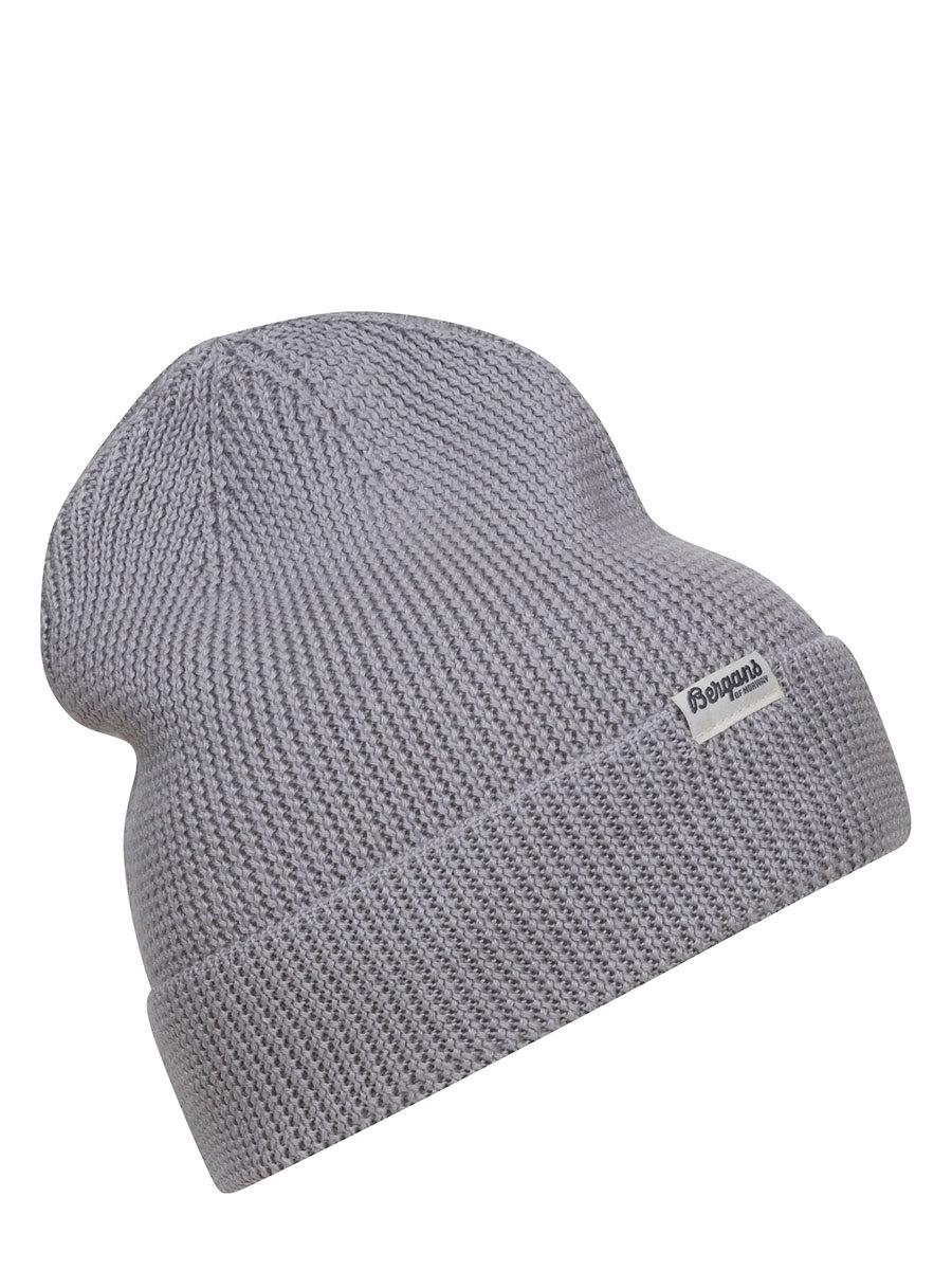 Bergans шапка 7725 Allround Beanie Aluminium - Фото 1