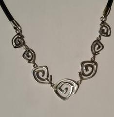 078 (кольцо + серьги из серебра)