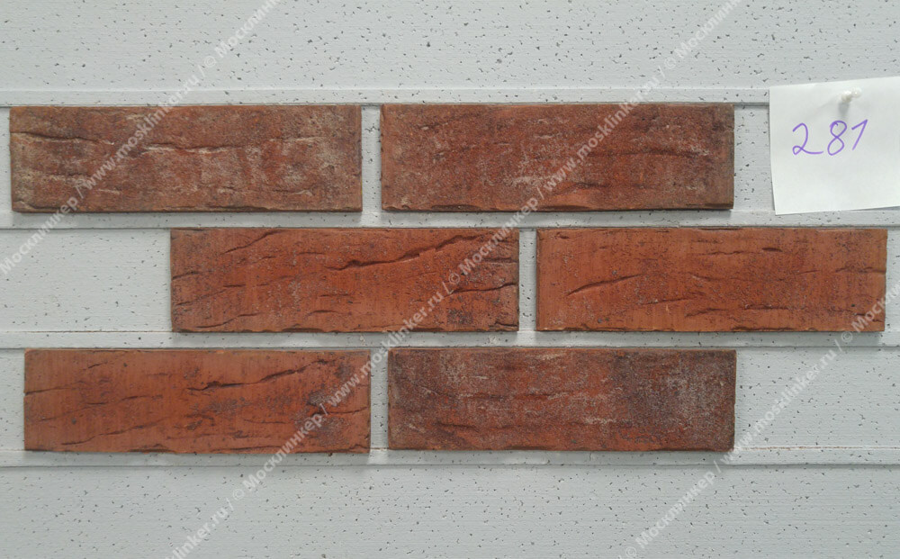 King Klinker - Street life (HF32), Old Castle, 240x71x10, NF - Клинкерная плитка для фасада и внутренней отделки