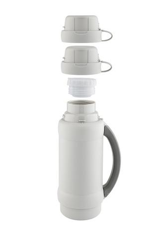 Термос Thermos 34 серия (1,8 литра) стеклянная колба, белый