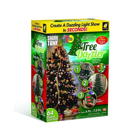 LED Гирлянда новогодняя на елку 64 светодиода