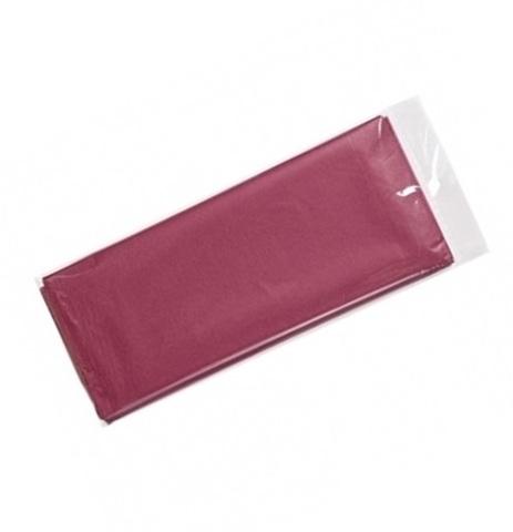 Бумага тишью 10 шт., 50x66 см, цвет: бордовый
