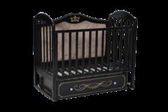 Кроватка Антел Анита-999 универсальный маятник,ящик с мягкой спинкой венге