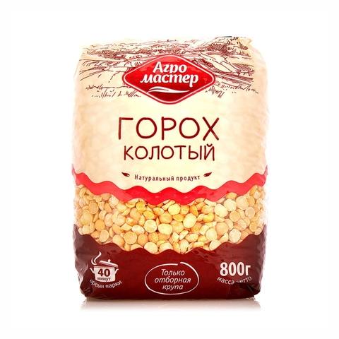 Горох колотый АГРОМАСТЕР 800 гр м/у РОССИЯ