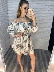 белое легкое летнее платье nadya