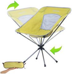 Кресло кемпинговое Kingcamp Rotation Packlight Chair (55Х58Х38/70) желто-зеленый - 2