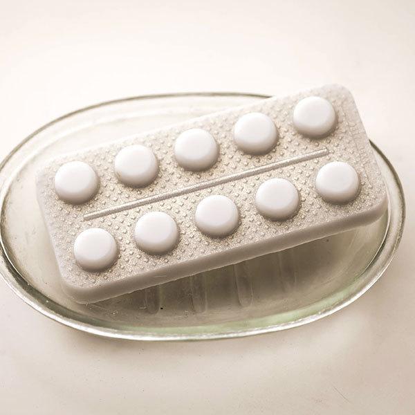 Форма для мыла Таблетки в блистере