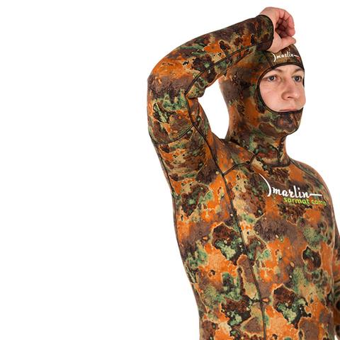 Гидрокостюм Marlin Sarmat Eco Brown 9 мм куртка – 88003332291 изображение 10