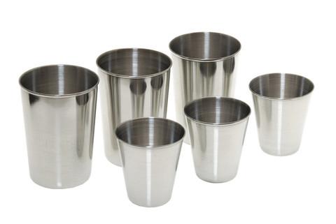 Набор стаканов из нержавеющей стали Gl221, 6 шт
