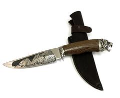 Нож Беркут-1, кованая 95Х18, Венге