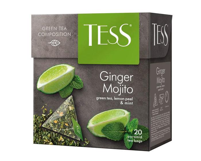 купить Чай зеленый в пирамидках Tess Ginger Mojito 20 пак/уп