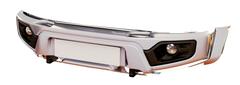 Бампер АВС-Дизайн передний UAZ Патриот/Пикап/Карго 2005+ лифт (с оптикой)(белый)