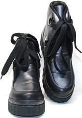 Модные зимние ботинки женские Kluchini 13047