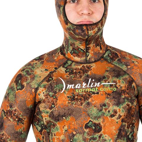Гидрокостюм Marlin Sarmat Eco Brown 9 мм куртка – 88003332291 изображение 5