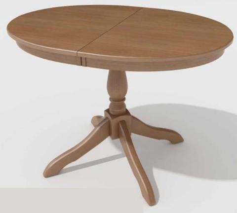 Стол обеденный Романс деревянный овальный дуб