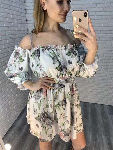 белое легкое летнее платье недорого