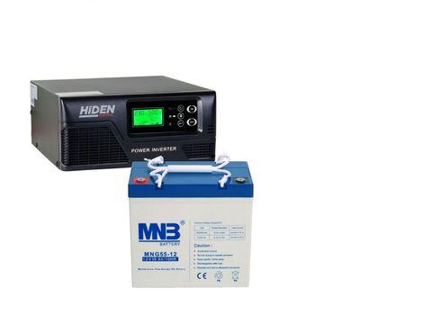 Комплект ИБП HIDEN CONTROL HPS20-0812+АКБ MNB MNG 55-12